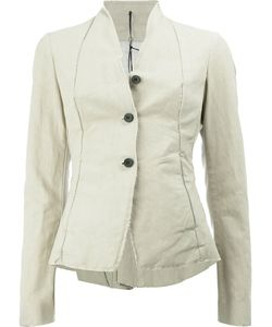 Masnada | Button Front Fitted Jacket