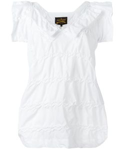 Vivienne Westwood Anglomania | Shortsleeved Blouse Medium Cotton