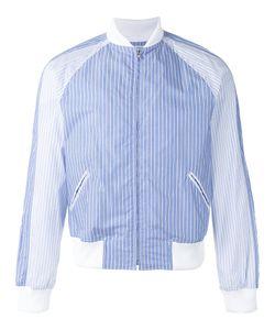 Comme Des Garcons | Comme Des Garçons Shirt Striped Bomber Jacket