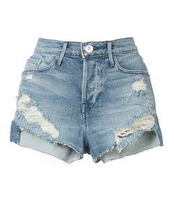 3X1 | Ripped Denim Shorts 26