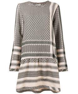 CECILIE COPENHAGEN | Keffiyeh Print Round Neck Dress