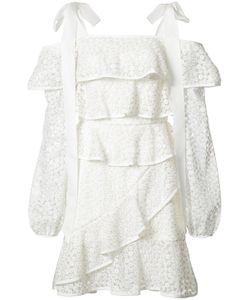 Rebecca Vallance | The Society Frill Dress 8 Nylon