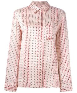 ASCENO | Modern Pyjama Shirt Large Silk