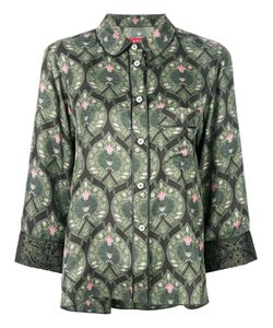 F.R.S For Restless Sleepers | Printed Button Up Shirt Women