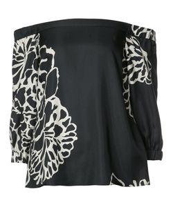 Tibi   Orla Bloom Blouse 4 Silk