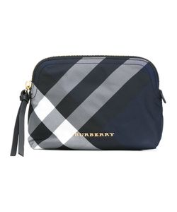 Burberry | Checked Beauty Case Polyester/Leather