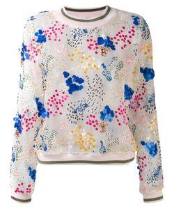 Miahatami | Sheer Embellished Sweatshirt 38