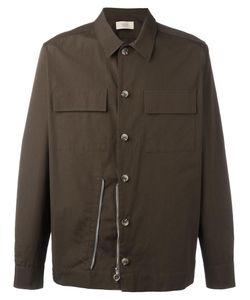 MAISON FLANEUR | Zip Detail Shirt 48 Cotton