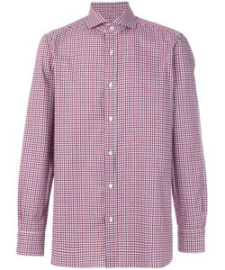 BORRELLI | Checked Shirt Men 39