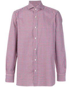 BORRELLI | Checked Shirt Men 39