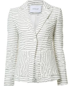Derek Lam 10 Crosby | Striped Blazer 2 Cotton/Acrylic/Viscose