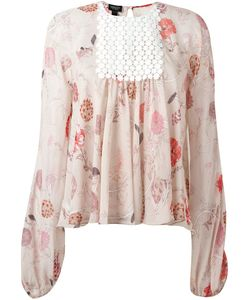 Giambattista Valli | Print Chest Panel Blouse