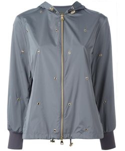 Salvatore Ferragamo | Studded Jacket 42 Silk/Polyester