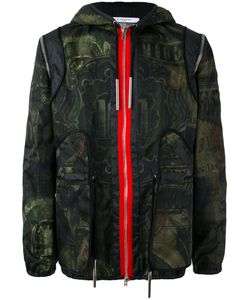 Givenchy | Dollar Print Hooded Jacket 44 Cotton/Polyamide/Viscose