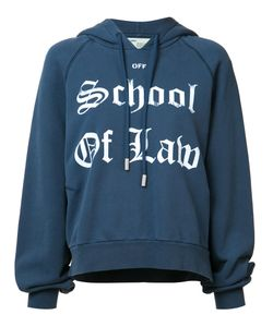 OFF-WHITE | School Of Law Hoodie