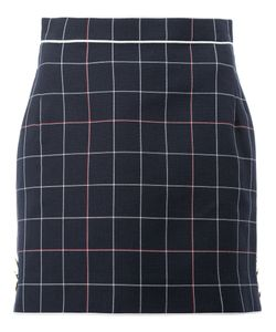 Thom Browne | Grid Mini Skirt Size