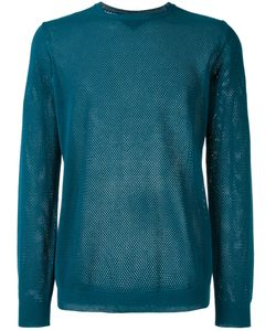 Roberto Collina   Perforated Detail Jumper Size 52