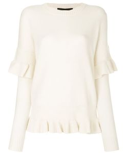 Designers Remix | Sydni Ruffle Sweater Women