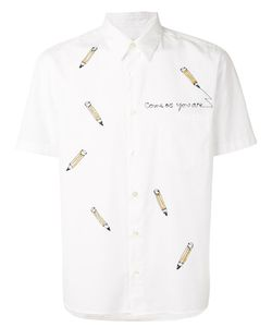 JIMI ROOS | Embroidered Pencil Shirt Size Large