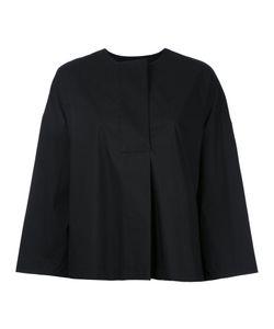 ENFÖLD | Wide Sleeve Collarless Blouse Size 40