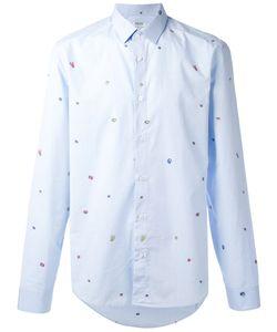 Kenzo   Рубашка С Мелким Принтом
