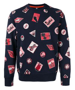 Paul Smith Jeans | Embroidered Patch Sweatshirt Size Medium