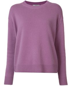 Vince | Ribbed Trim Jumper Small Cashmere
