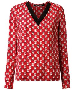 Reinaldo Lourenço | All-Over Print Blouse