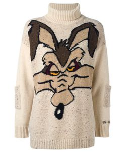 JC DE CASTELBAJAC VINTAGE | Wile E. Coyote Sweater Size