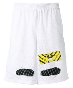 OFF-WHITE | Perforated Shorts Medium Polyester