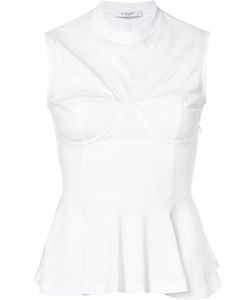 Givenchy | Corset Detail Peplum Top 40 Cotton