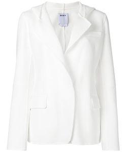 DKNY | Oversize Lapel Blazer 6 Cotton/Nylon/Spandex/Elastane/Polyester