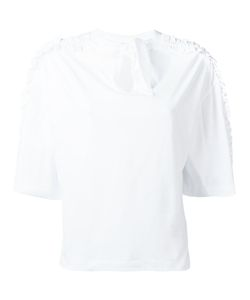 Steve J & Yoni P | Back Ribbon Frill T-Shirt