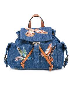 Red Valentino | Denim Mini Backpack Cotton
