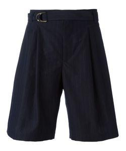 MAISON FLANEUR | Belted Shorts 46 Cotton/Virgin Wool/Viscose