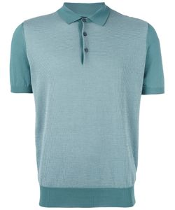 Corneliani   Knitted Polo Shirt