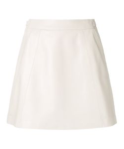 LOVELESS | A-Line Mini Skirt 34 Lamb Skin
