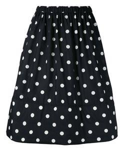 Comme Des Garcons | Comme Des Garçons Polka Dots A-Line Skirt