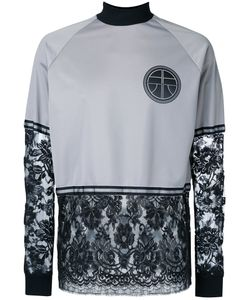 Astrid Andersen | Lace Patch Crewneck Top