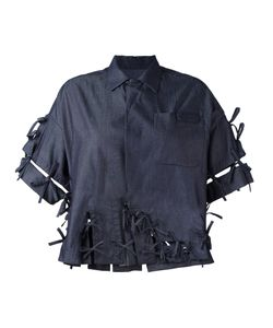 FACETASM | Denim Bow Shirt 2 Cotton