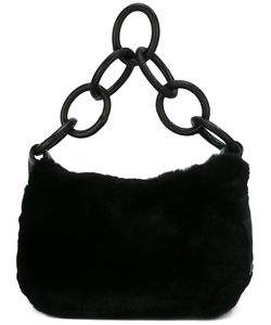 Chanel Vintage | Ring Handle Fur Shoulder Bag