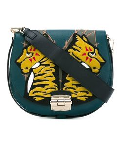 Furla | Tiger Patch Saddle Bag