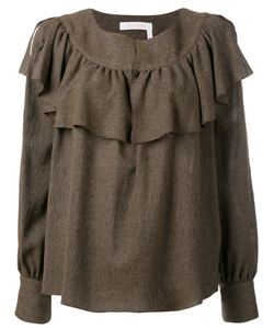 See By Chloe | See By Chloé Frilled Collar Knitted Top