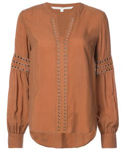 Veronica Beard | Stud Embellished Blouse Women