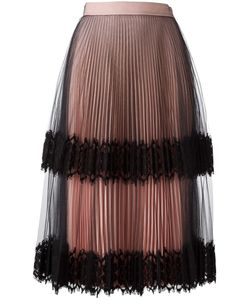 Christopher Kane | Pleated Tulle Skirt Size 40