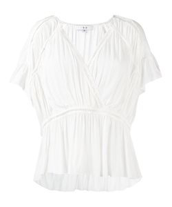 Iro   Wrap Blouse Size 40