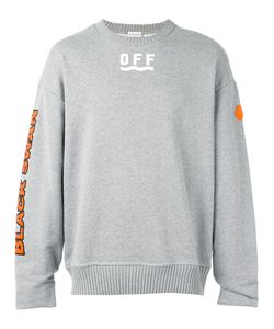 Moncler x Off-White | Printed Motif Jumper Small Cotton