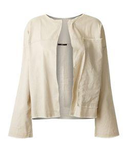 Uma Raquel Davidowicz | Panelled Jacket 40 Linen/Flax/Spandex/Elastane/Viscose