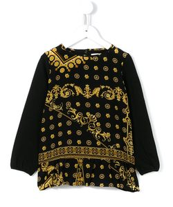 Young Versace | Majolica Print Blouse 11 Yrs