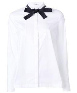 Brunello Cucinelli | Рубашка С Узкий Воротником И Завязкой